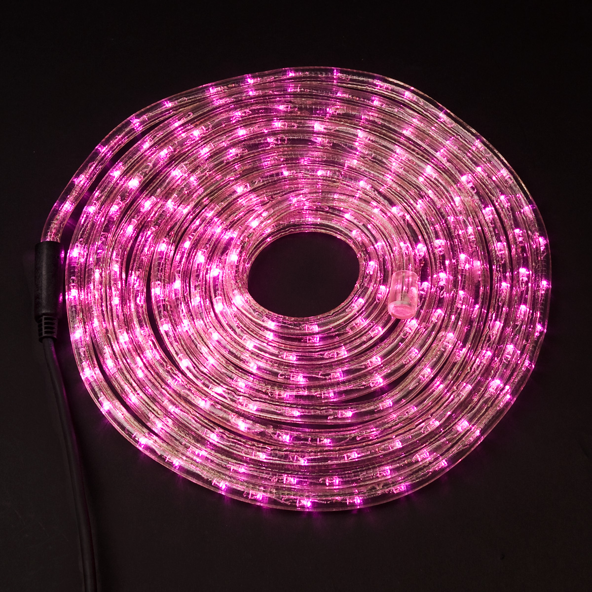 led lichtschlauch pink lila 6 meter lichterkette lichterschlauch ebay. Black Bedroom Furniture Sets. Home Design Ideas